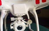 Drone (quad) recherche lumière de nuit Flying