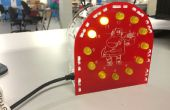 Arduino-powered LED horloge