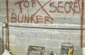 Comment construire un Bunker Super Top Secret sous votre maison.  Le prélude...