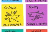 Des créatures hybrides : Encre bricolage timbres - 1er Grade bricolage - semaine 10
