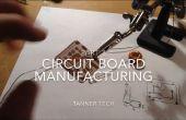Fabrication de circuit imprimé sans une ordinateur partie 3: Surface montage souder