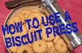 Comment utiliser une presse à biscuit