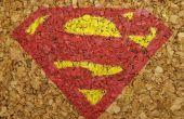 Sous-verres de Cork Superman