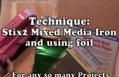 L'utilisation mixte fer pour feuille & appliques