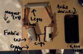 Bat par Chris & Mohsen : casque DIY (fabriqué à partir de briques lego)