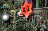 Cute senti décoration d'arbre de Noël !