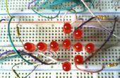 Flèche d'une LED de simple et peu coûteuse
