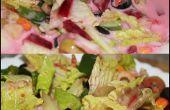 Salade de légumes : Faible teneur en calories !
