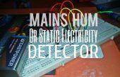 Secteur Hum détecteur / Détecteur d'électricité statique
