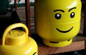 Bouteille de propane Lego Head