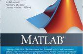 Traçage de données à l'aide de MATLAB