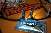 Les plaquettes Sugru lunettes