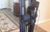 Armoire de stockage pour une Machine de Ski et autres Modifications
