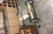 Simple en bois Go-Kart-matériaux