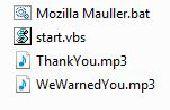 Mozilla Firefox Virus Prank