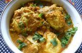 Oeufs au Curry avec une différence de