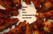 Sweet et pilons de poulet épicé Grenade