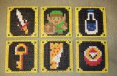 La légende de Zelda boissons russes (Perler Beads)