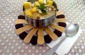 Bouillie de lentilles jaunes crus (moong) pour le petit déjeuner