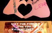Coeur à la main et Star Wars Valentines
