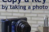 Faites une copie de la clé d'une Photo