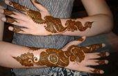 Comment appliquer le Mehndi part pour compléter votre Western ressemble