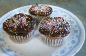 Petits gâteaux au chocolat crème sure