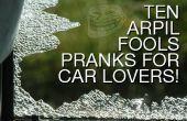 Farces du poisson d'avril 10 pour les amateurs de voiture !