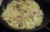 Curry de riz de Steak Bacon