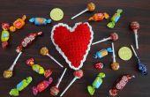 Crochet coeur Pin Cushion ou décoration motif & Turorial