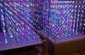 Cube de LED RVB Arduino Mega 8 x 8 x 8