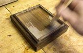 Nourriture-sûre de finition du bois avec Shellac (+ abeille huile cire / noyer)