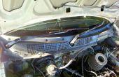 Entretien du moteur d'essuie-glace sur une Honda civic 99