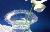 Transformer la vieille bouteille en vase a fleurs
