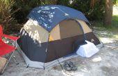 Ruggedizing et bogue-imperméabilisation un climatiseur de fenêtre pour tente camping