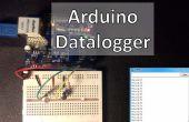 Arduino-enregistreur avec sonde de température et de la photorésistance