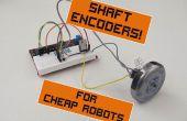 Vitesse de contrôleurs pour les Robots bon marché, partie 1: arbre encodeurs