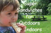 Super Sandwich s'amincit pour l'extérieur ou à l'intérieur