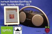 Spotify & Airplay Boombox d'un HK Go + Play II