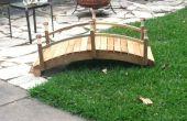 Pont de jardin - mise à jour
