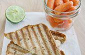 La Turquie & Sprout Sandwich grillé