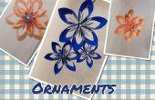 Kusudama Origami Noël Onaments