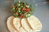 Fatoush - une savoureuse salade moyen-orientaux