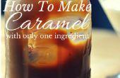Comment faire le Caramel avec qu'un seul ingrédient
