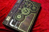 Steampunk inspiré bois livre