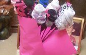 Culotte Saint Valentin bouquet de fleurs