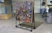 Construire un chariot d'outil Peg Board (par Brad Justinen)