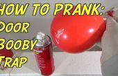 Comment piège une porte avec un ballon et de la crème à raser