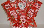 Kit Kat et Bouquet de bonbons coeur
