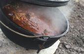 Faitout, soupe au poulet coriandre copieux